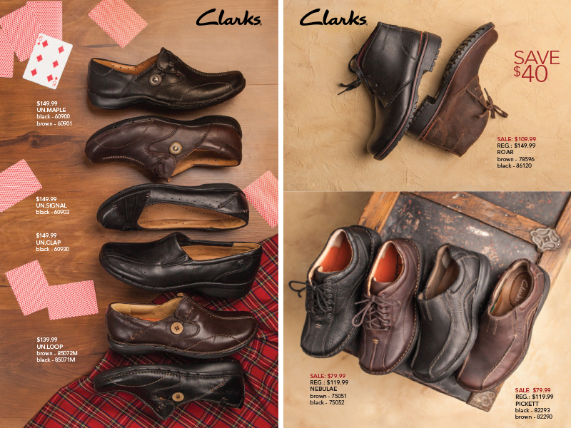 Clarks Shoes for Fall SoftMoc Flyer